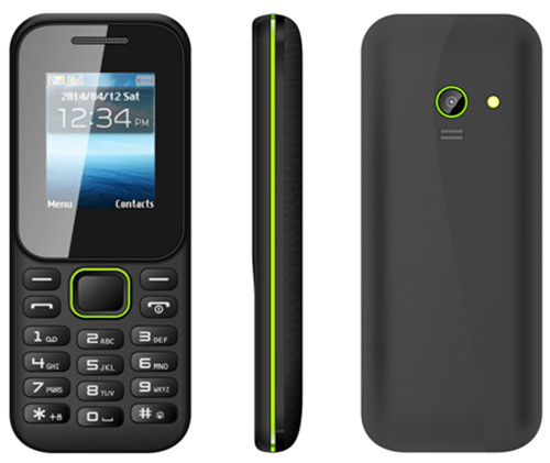 Wholesale low cost basic south america popular 1.8 inch mini quad band bar cell phone