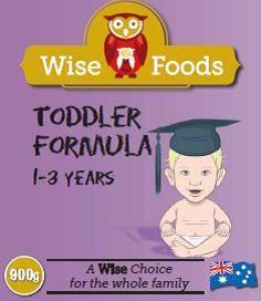Wise Foods premium quality Australian infant formula