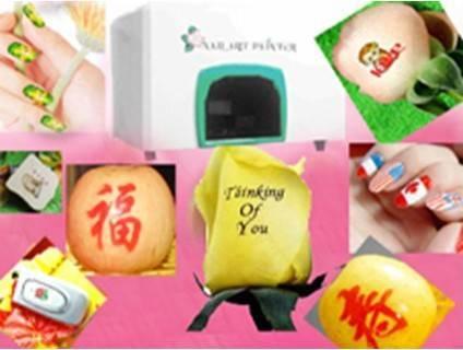 Multifuctional Flower Nail Printing Machine