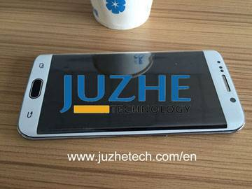 3D curved tempered glass screen protector for S6 edge