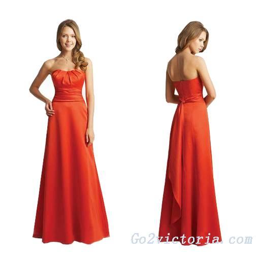 Wholesale satin evening / prom dress (9380)