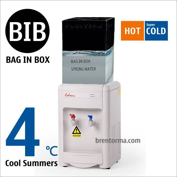 16TG-BIB Tabletop BIB Water Cooler Bag in Box Water Dispenser