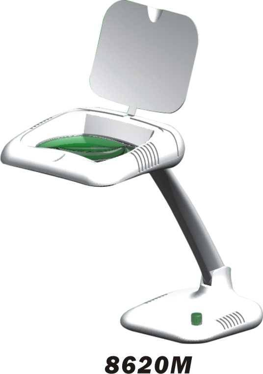 magnifying lamp/ chargeable