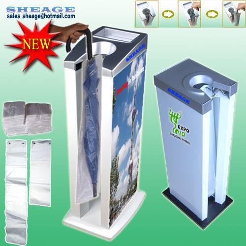 Sanitary Umbrella Bag Dispenser, Umbrella Packing Machine, Umbrella Casing Dispenser, SHE-E101