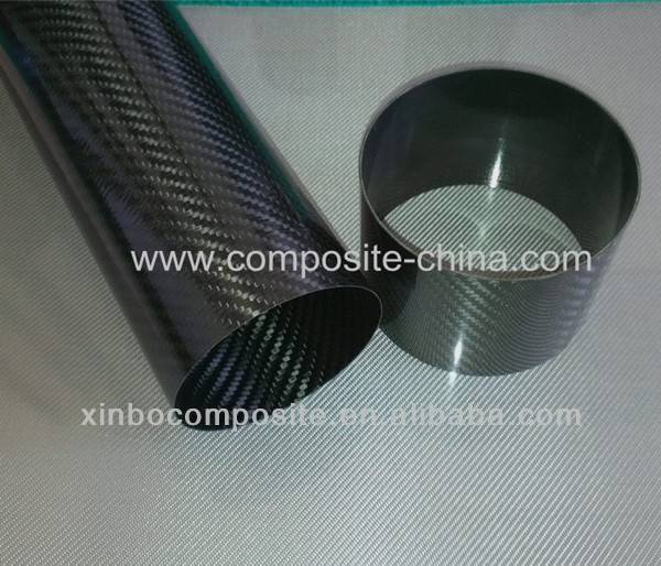 carbon fiber exhaust pipe,high temperature resistance carbon fiber tube,auto part