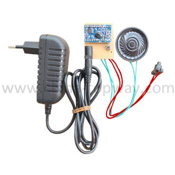 Voice recording module with CDS sensor