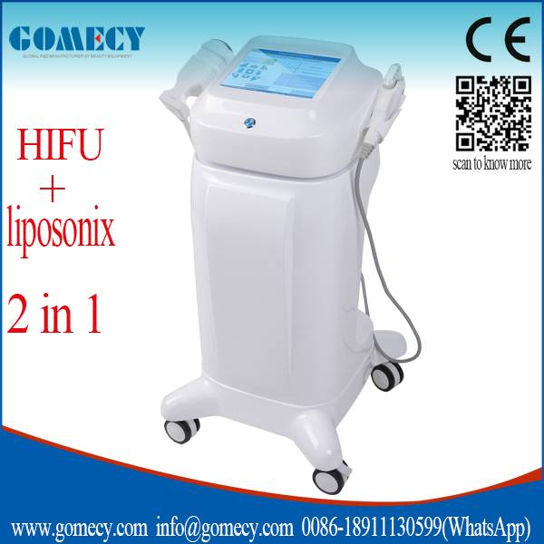 Efficient Fat loss portable liposonix hifu machine / hifu and liposonix slimming machine