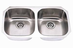 Undermount Double Bowl Stainless Steel Sink