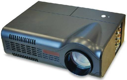 Mini LED Portable Projector 3D home theater