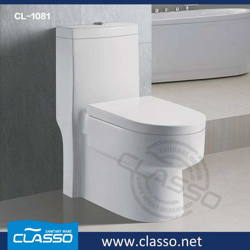New design washdown toilet 4-inch one piece closet Turkish brand Classo CL-1081