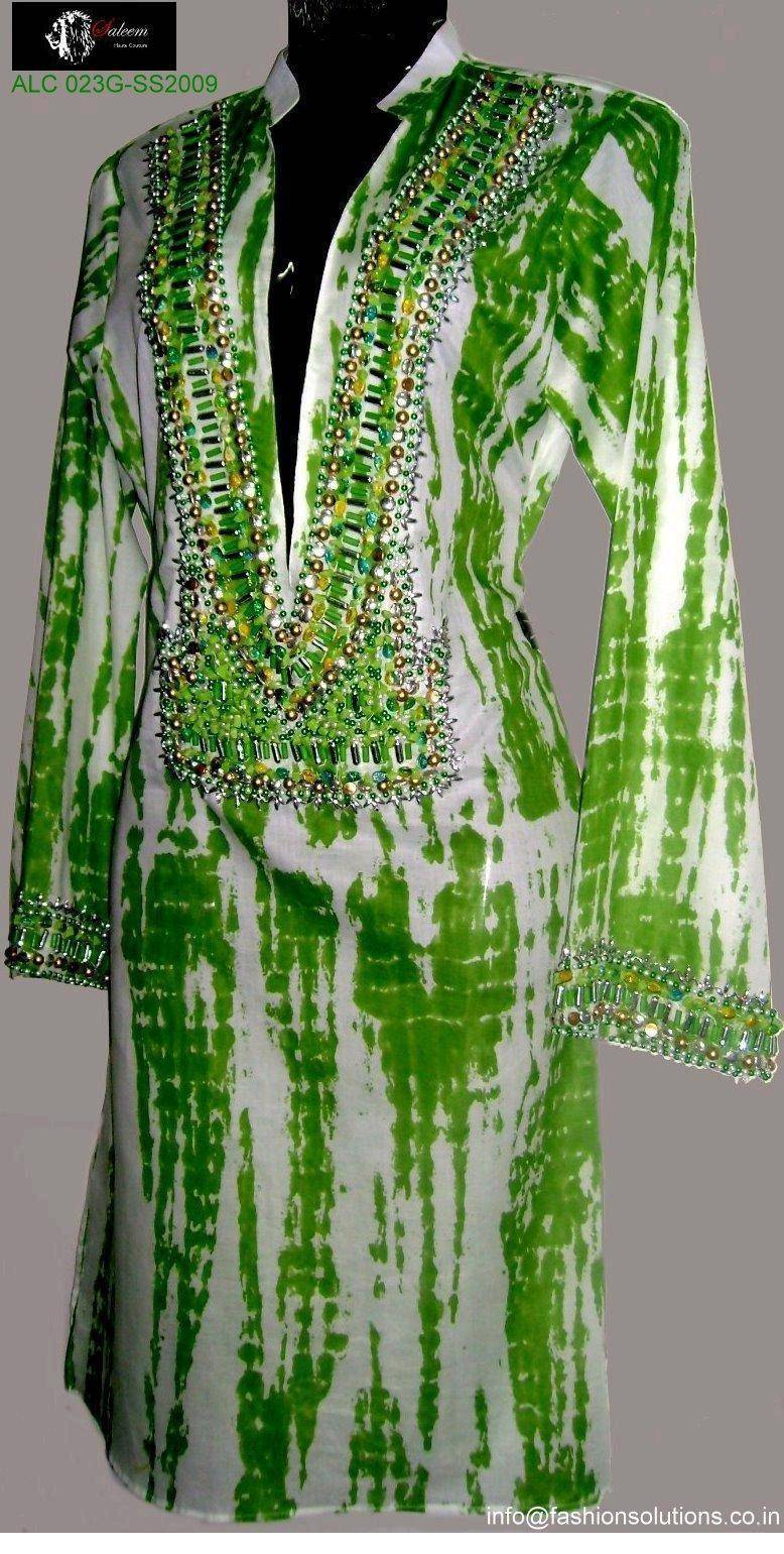 Sell Hand Embellished ladies tunics / caftans