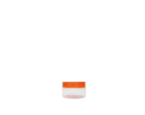 single wall plastic jars hair care
