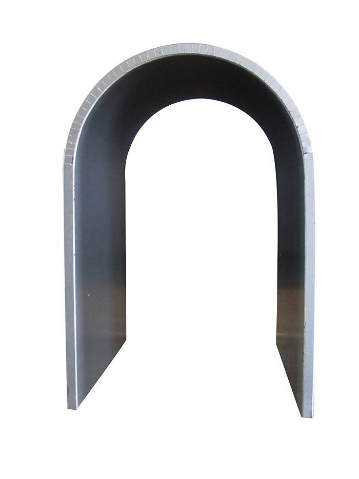 Sell Curved Aluminum Honeycomb Panel with PVDF Coating