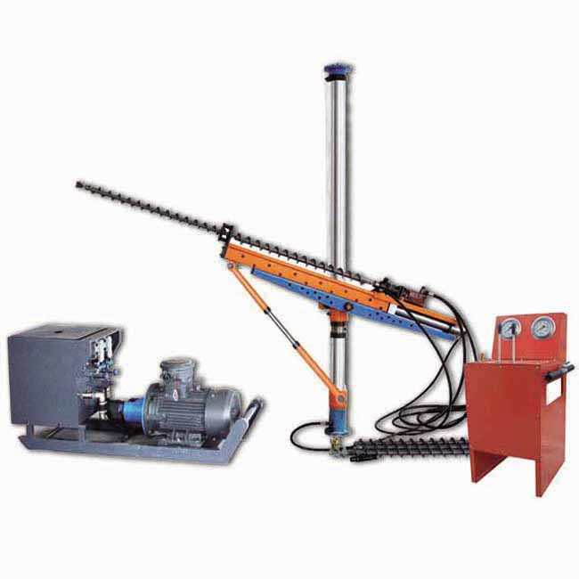 ZYJ-380/210 hydraulic drillier with posts for exploration and blasting hole in the underground coal