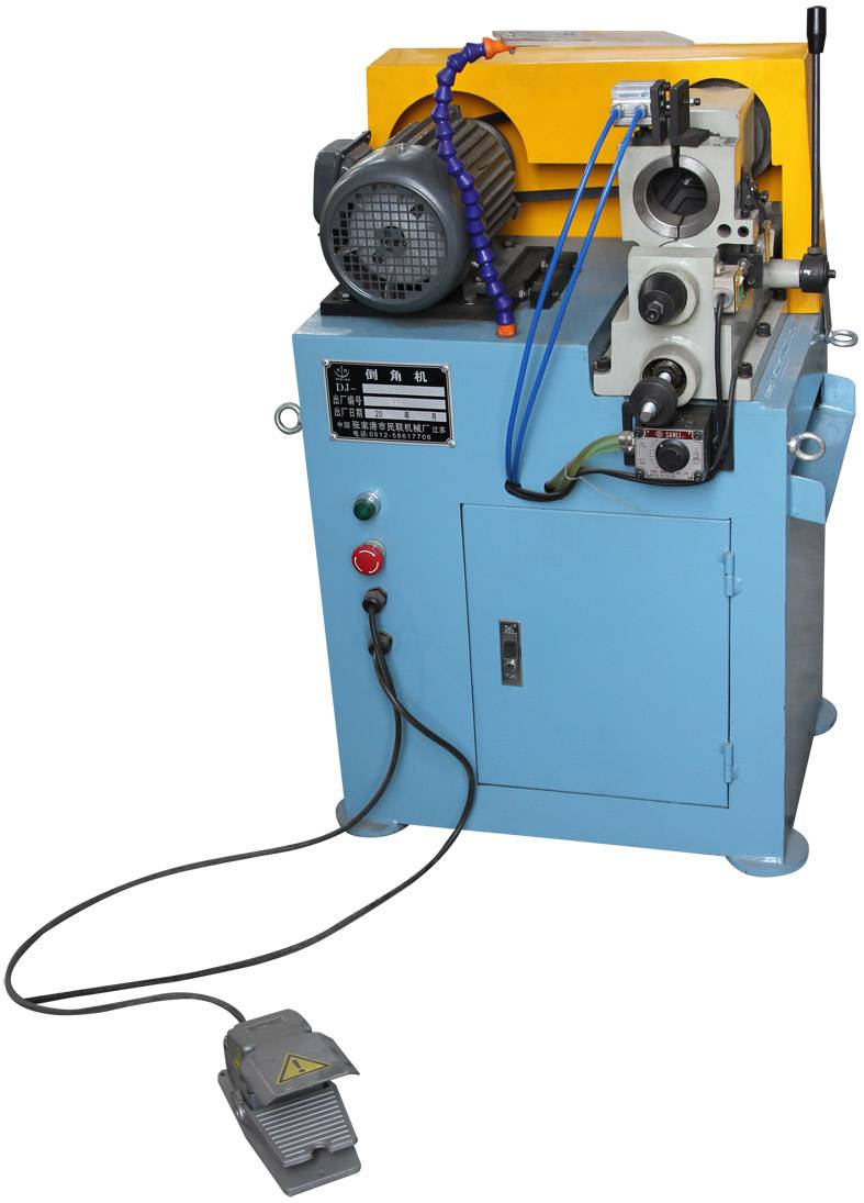 China low price single head chamfering machine