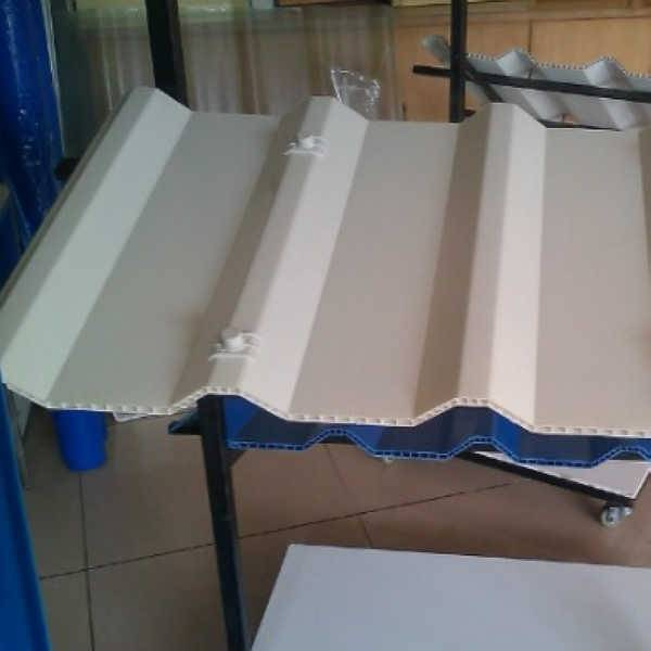 Supply High Qualitu PVC Corrugated Shee for Roofing