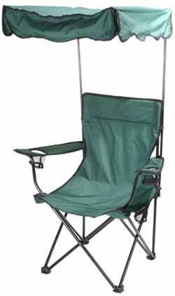 Armchair with canopy,Folding Canopy Chair