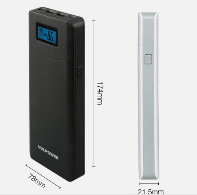 Powerbank 3.5A 15600mAh External Battery Charger Quick Charger Technology for Cell Phone
