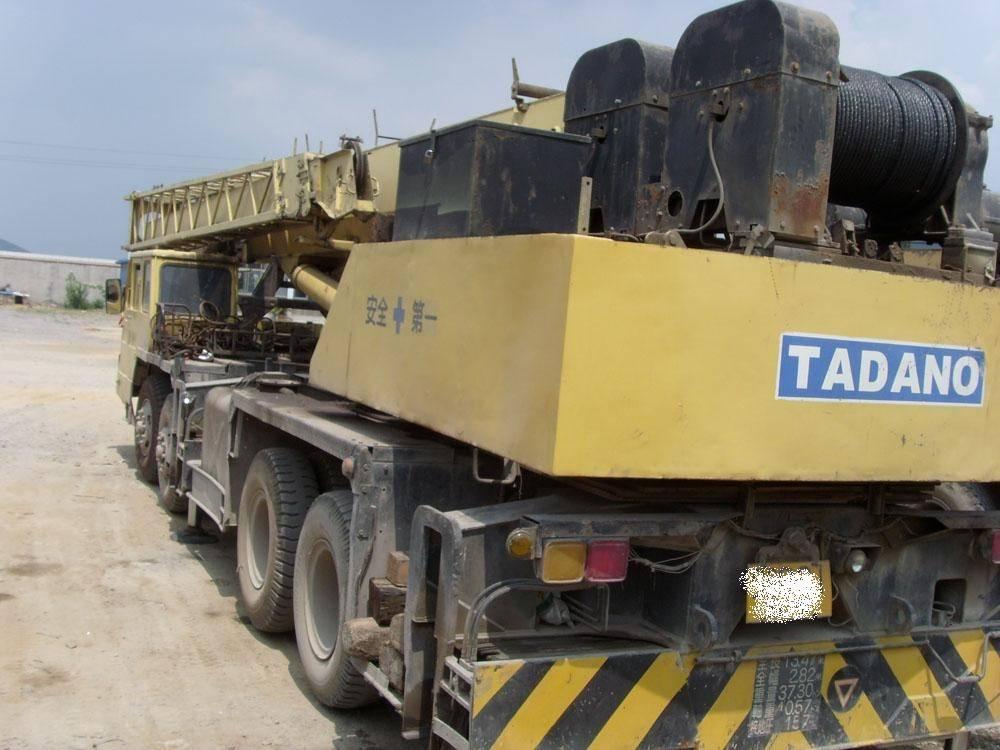 50t tadano used truck crane