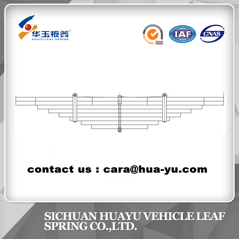 leaf spring compatible with SCANIA 1547824