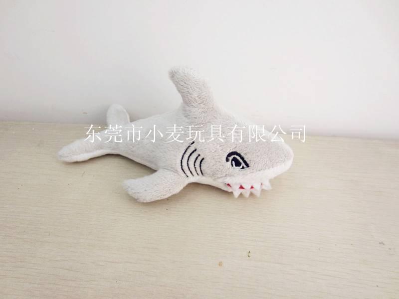 Grey Shark Plush Animal Toy