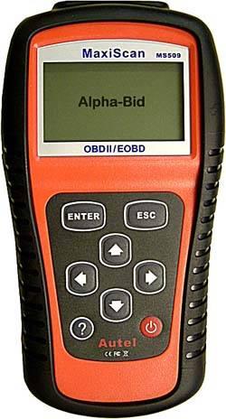 MaxiScan MS509 OBDII/EOBD Scanner