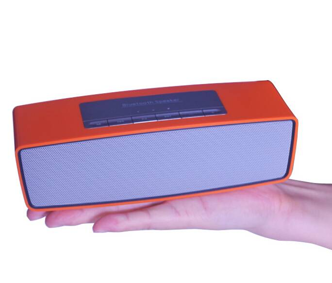 Super Bass Bluetooth Speakers with 5W trumpet, 4,000mAh Battery Capacity