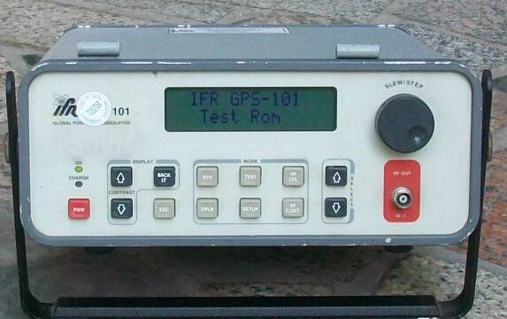 For Sale: Used Test Equipment GPS Satellite Simulator Aeroflex GPS-101 $4,500