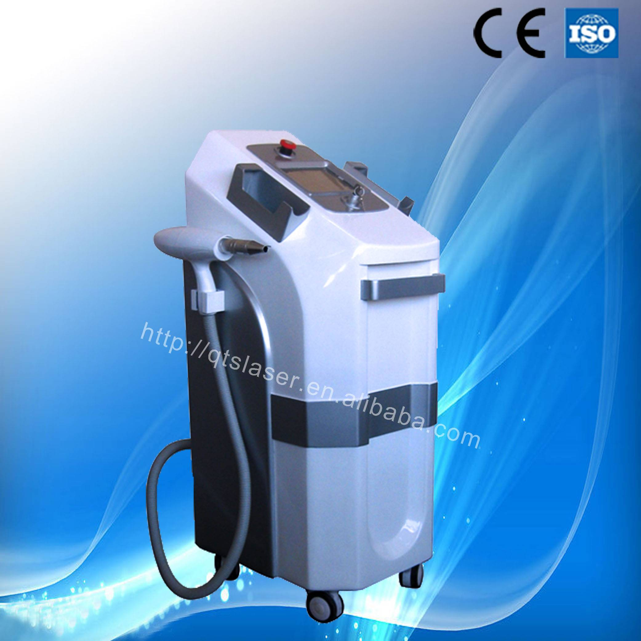 New Hair Removal Long Pulse Laser Machine ND:YAG