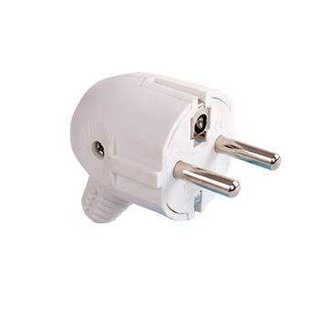 elbow power plug with earthing