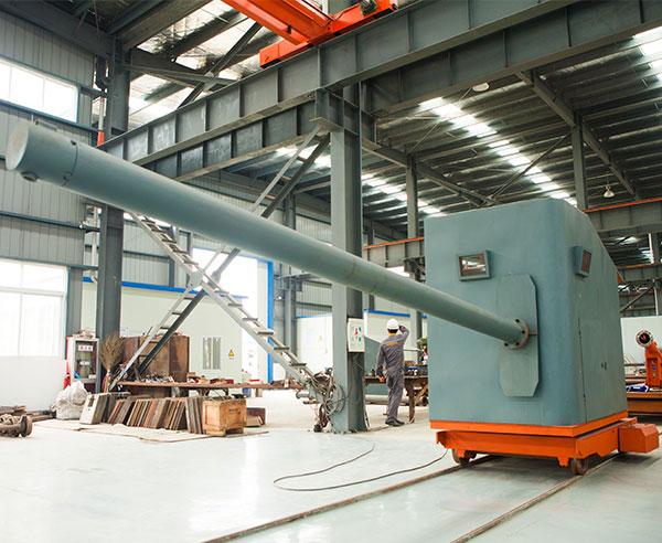 Metallurgy Automatic Refractory Ladle Slag Dart Dispatching Machine