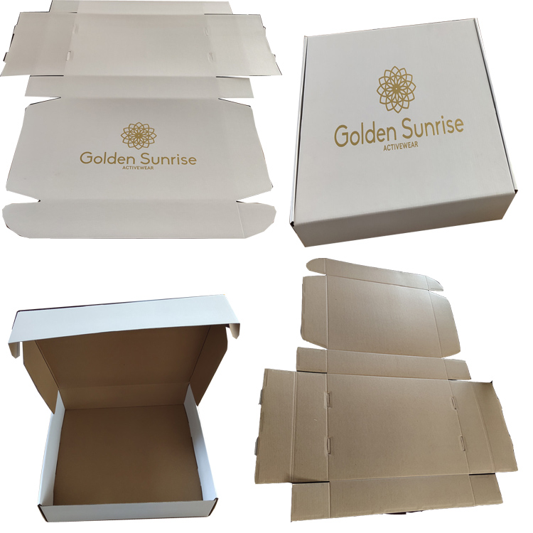 custom paper corrugated mailer box with best service