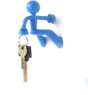 Wall Mounted Key Holder Novel Item