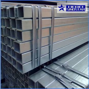 Hot Dipped Galvanized Square Steel Pipe And Tubes
