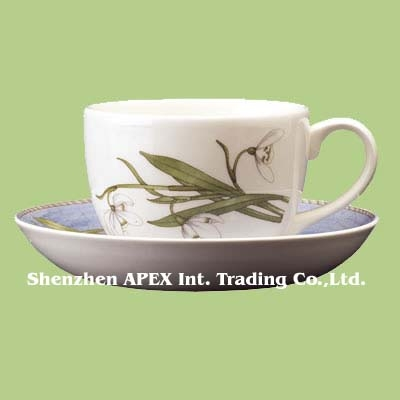 Offering cups & saucers(Shenzhen APEX Trading Co.,Ltd)