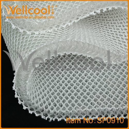 cheap and air conditionning 3d fabric for pad, cushion