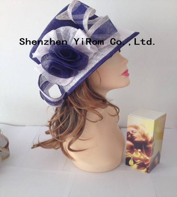 YRSM14002 sinamay hat, occasion hat, church hat, race hat