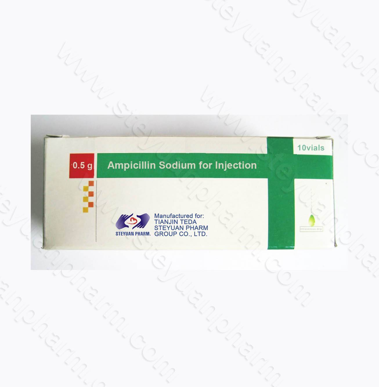 Ampicillin sodium for injection 500mg