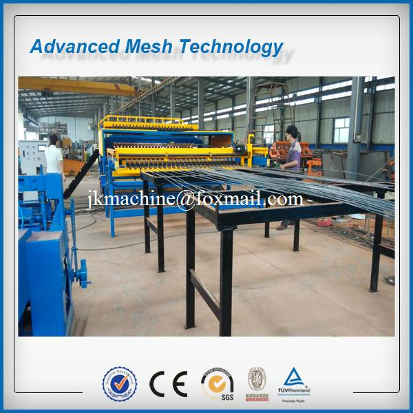 CNC Rebar Mesh Welding Machines for 5-12mm Tunnel Lining supporing Mesh