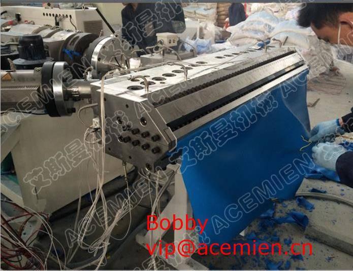 920mm/1130mm PVC Corrugated roof sheet machine