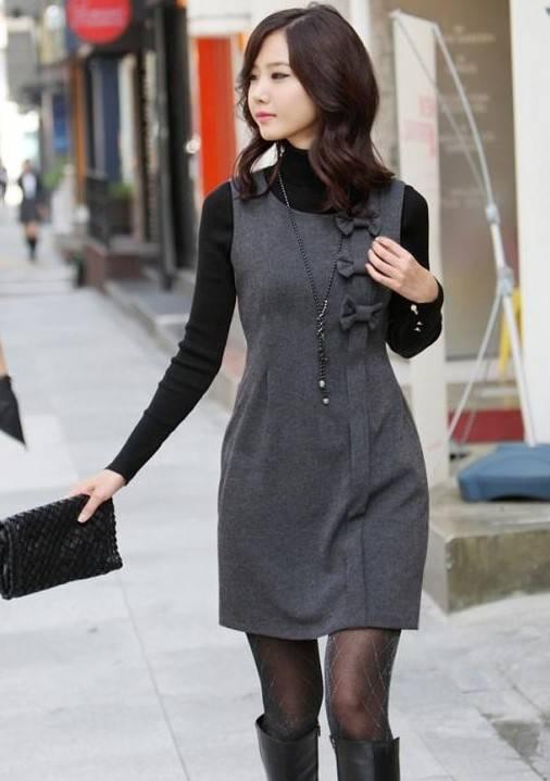 Korea Style,Lady's Dress,Clothing,Cheap Clothes,Fashion Womens Dress