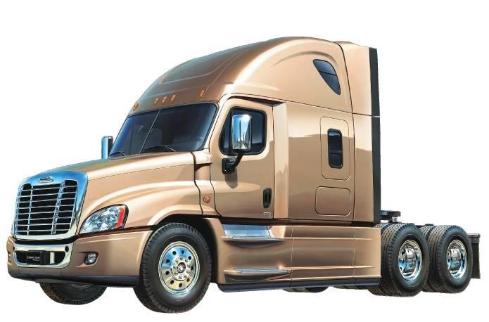Tamiya 1/14 scale Freightliner Cascadia Evolution Truck kit