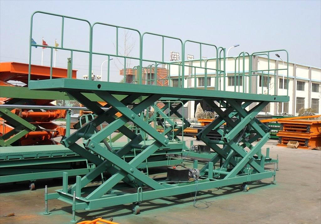 Strong Structure Fixed Hydraulic Scissor Lift Table