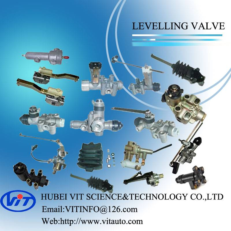 Truck air brake part levelling valve height control valve