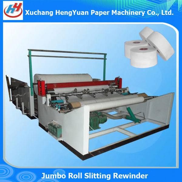 Full Automatic Jumbo Roll Slitter Machine