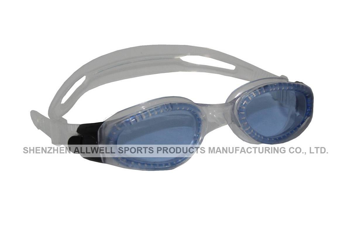 Adult swimming goggle G-0618 / curved lens