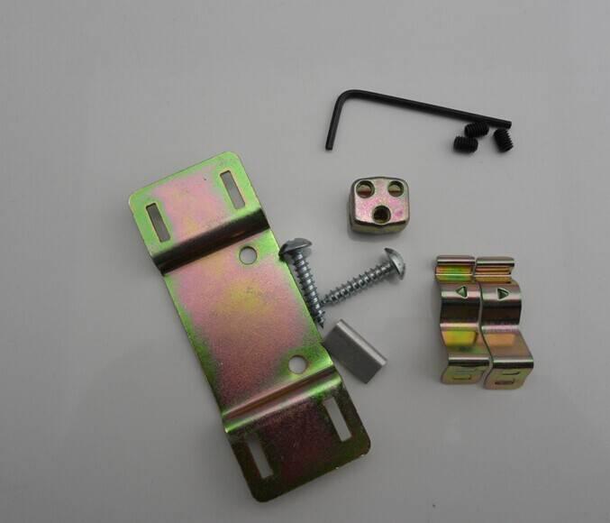 Sciding door contract/Cable lock brackets