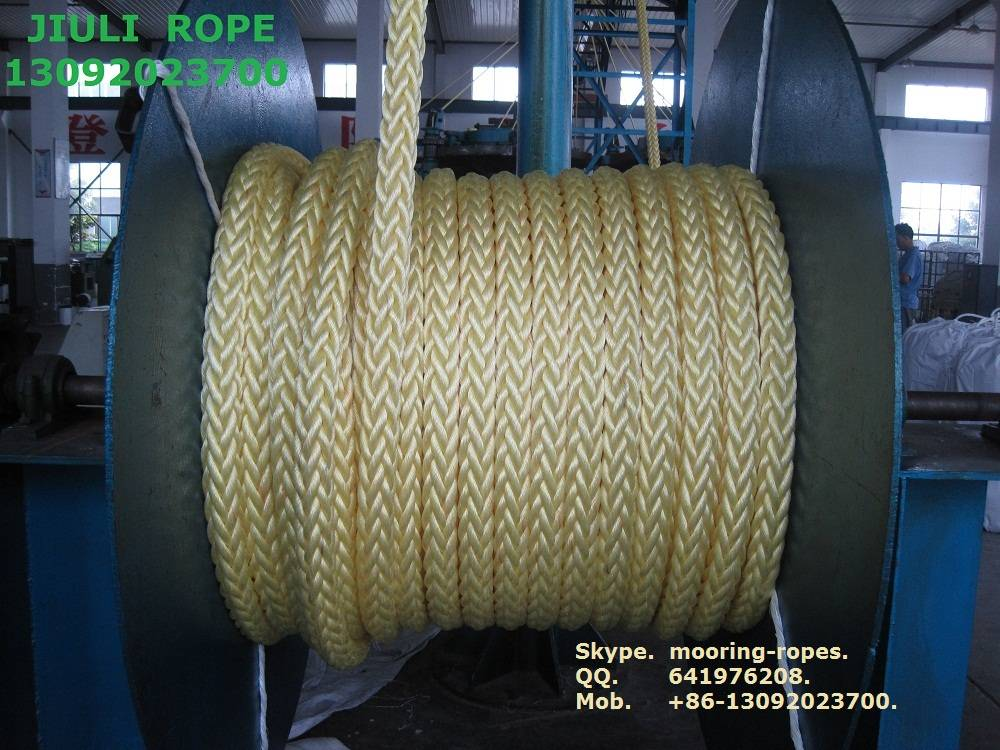 Tipto-eight 8-strand mooring rope