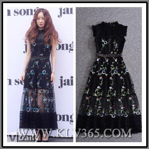 New Fashion Designer Lady Stylish Party Maxi Dress Wholesale