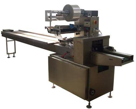 3-side seal packaging machine / pillow shaped packaging machine / Surgical bandage packing machine